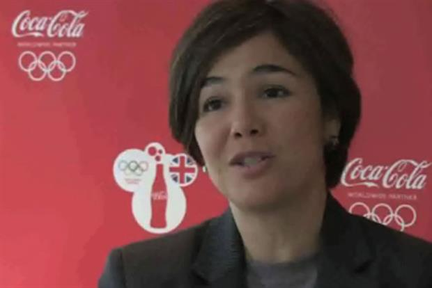 Claudia Navarro: Coca-Cola's global director of marketing for the Olympic Games