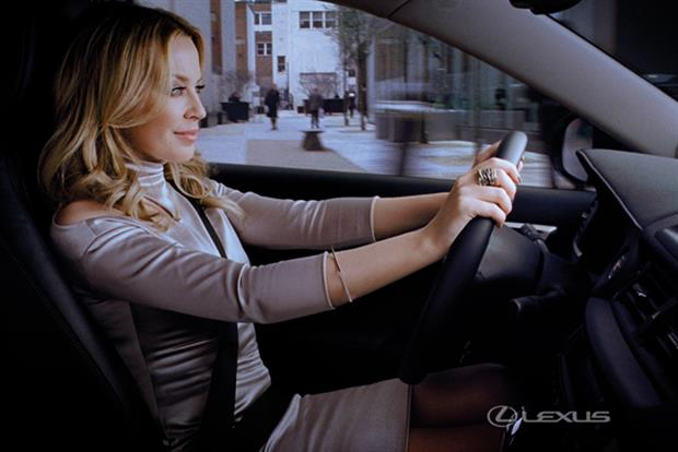 Kylie stars in the latest Lexus ad