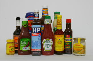 bottled sauces