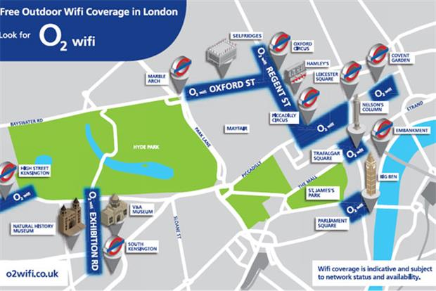 O2 Wi-Fi: Wall's targets consumers via thermal proximity messaging in London