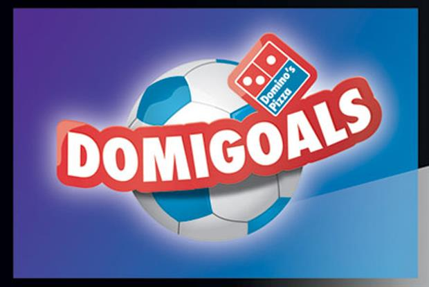 Domino's Pizza: launches Domigoals app last year