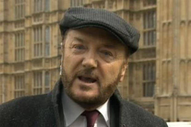 George Galloway: thinks brands should pay for Thatcher funeral