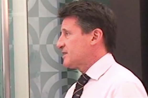 Lord Coe: talks to Marketing magazine