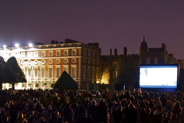 Hampton Court: pop-up cinema