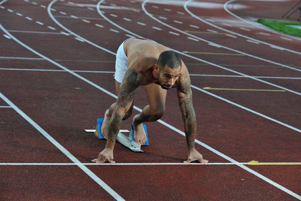 James Ellington: sprinter has put himself on eBay to seek Olympics sponsorship