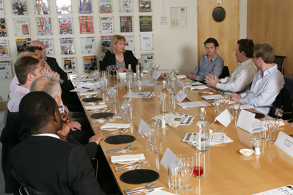 Panellists mull topics at the Greater Insight round table