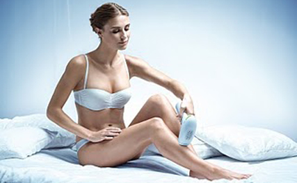 Philips Lumea: new depilation device