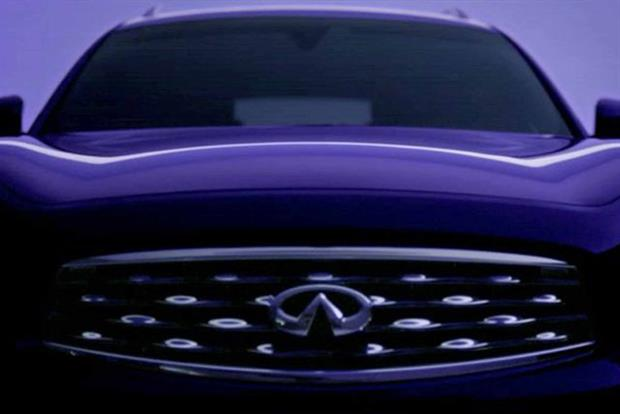 Infiniti: rolls out 'since now, the perfect line is a curve' campaign