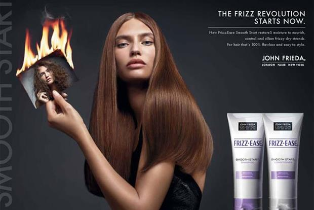 John Frieda: readies live styling show