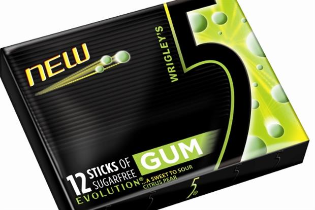 5Gum Evolution: new Wrigley's product