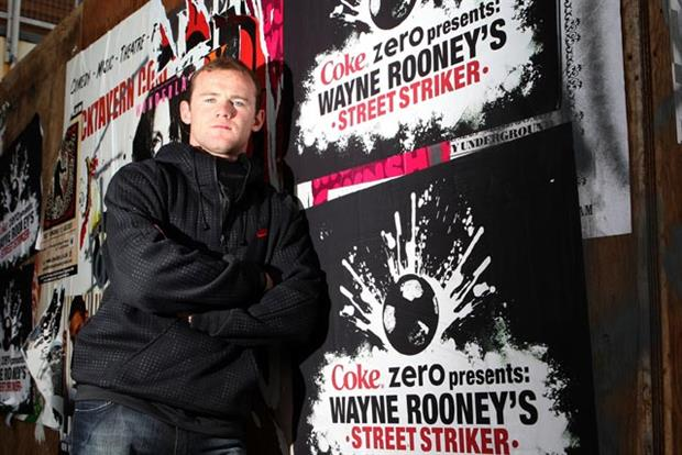 Wayne Rooney:  Manchester United player's deal with Coca-Cola ended
