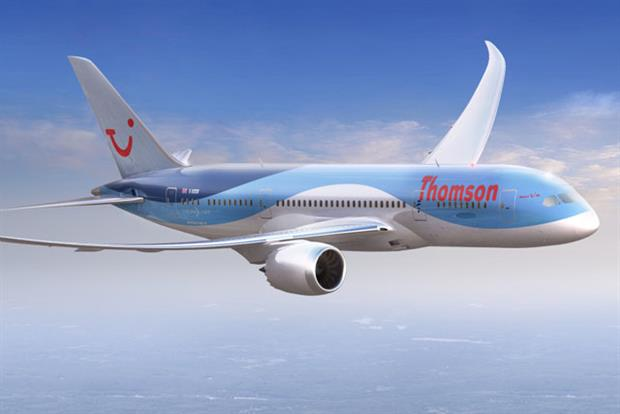 TUI: latest campaign promoting Thomson Airways' new Boeing Dreamliner aircraft