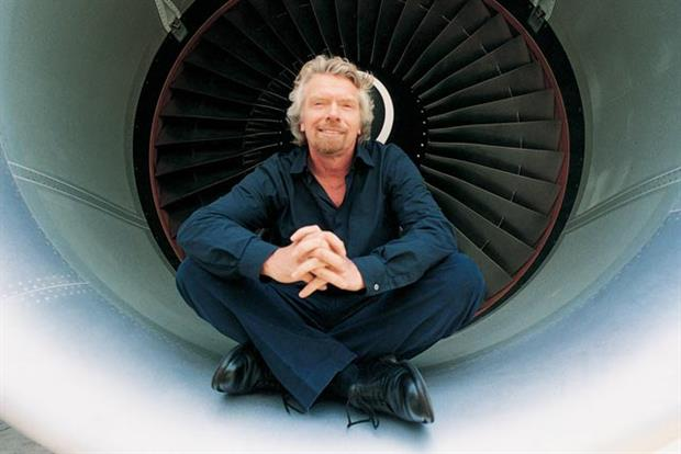 Richard Branson: Virgin Atlantic's majority shareholder