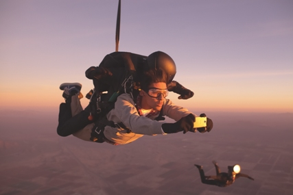 HTC One 'Freefall' campaign