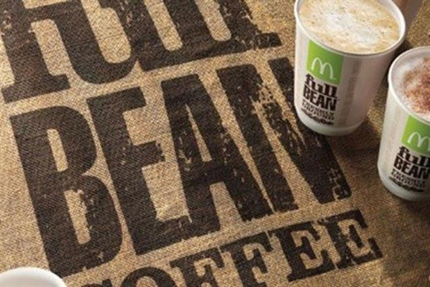 McDonald's say coffee sales 'exceeded all expectations' in 2011