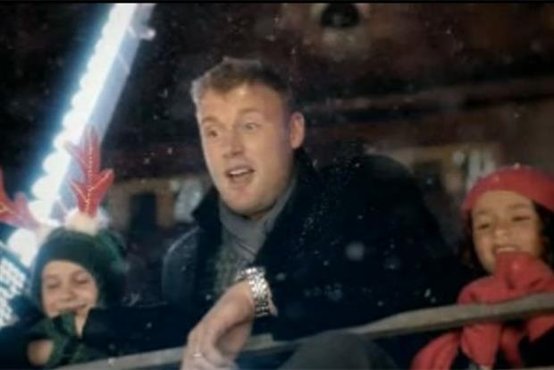 Morrisons: Freddie Flintoff in the Christmas of dreams ad by DLKW Lowe