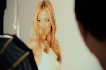 Cat Deeley: in the Pantene make a swish campaign