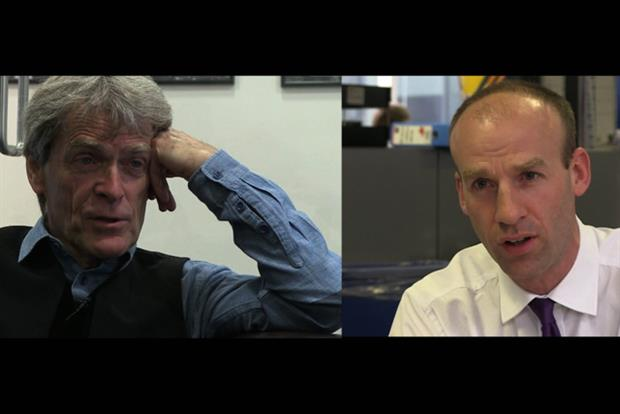Sir John Hegarty and Will Harris