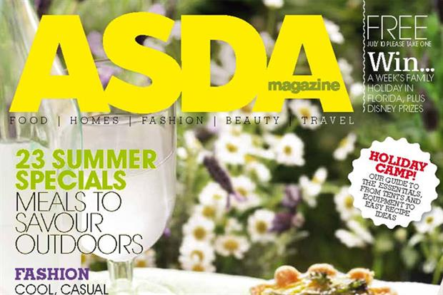 Asda: the fourth biggest circulation magazine in the country