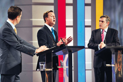 Leaders' debates: less important than marketing
