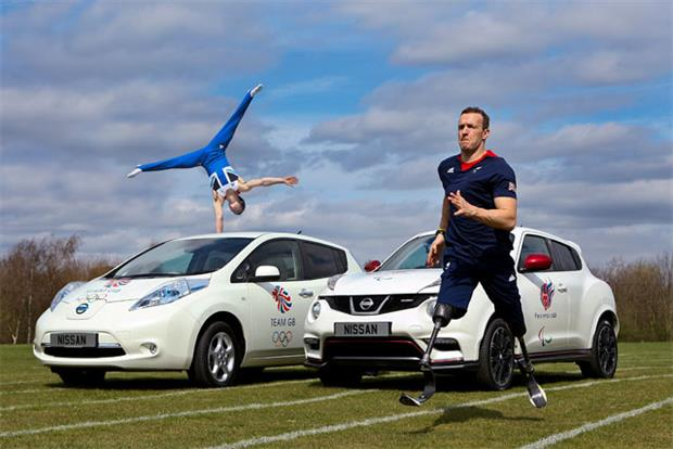 Nissan to sponsor Team GB