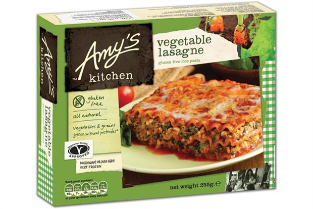 Amy's Kitchen: rolling out UK-specific range