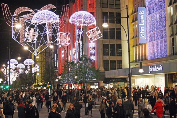 Oxford Street: John Lewis tempts shoppers with price match promise