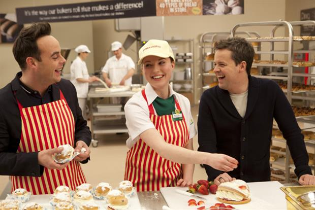 Morrisons: ad campaign featuring Ant and Dec