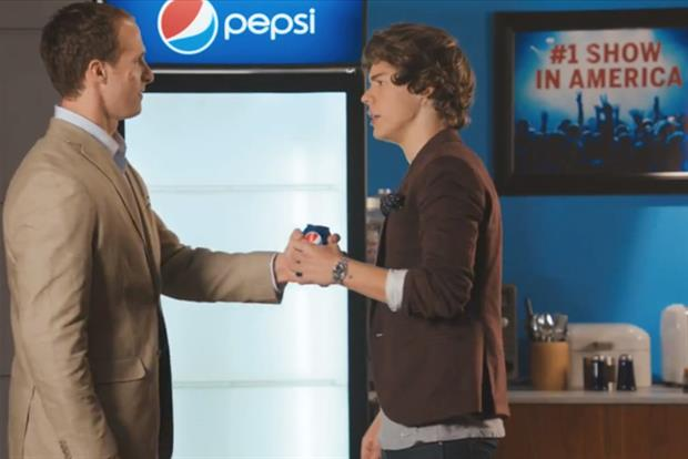 Pepsi: new 'Live for now' ad