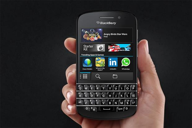 BlackBerry 10: positioned as a lifestyle product