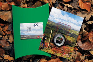 Visit Wales direct mail pack