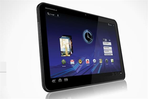 Motorola Xoom: scheduled to be 4G compatible by the second quarter