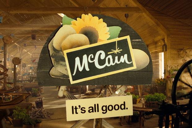 McCain: preparing global brand revamp