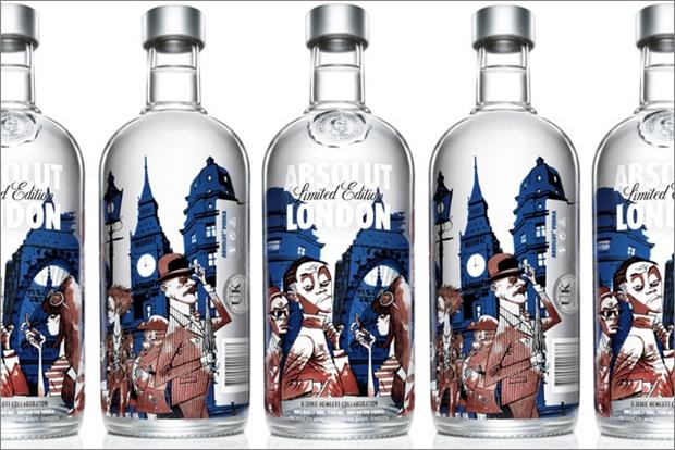 Absolut London: limited edition
