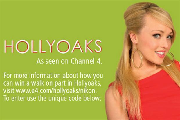 Nikon: launches 'Hollyoaks' competition