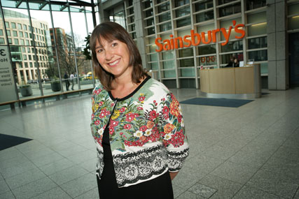 Gwyn Burr: Sainsbury's customer service and colleague director (Colin Stout)