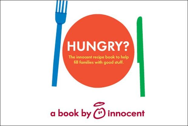Innocent: launches cookbook with 100 family-orientated recipes