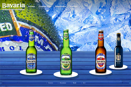 Bavaria Beer website: massive rise in search rank following World Cup stunt