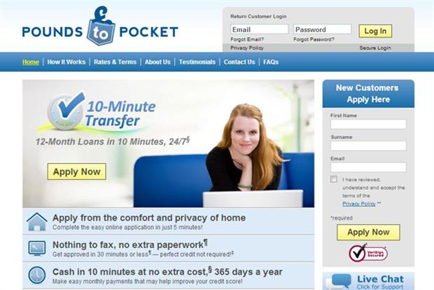 Pounds to Pocket: ad deemed socially irresponsible