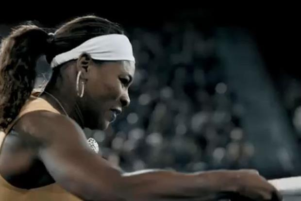 Serena Williams: in Gatorade's 1.2 billion ad campaign by TBWAChiatDay