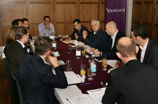Yahoo! and Marketing host telecoms round table