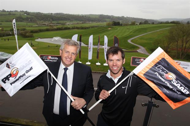 Saab signs up for first PowerPlay Golf event