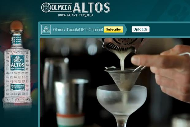 Olmeca Tequila YouTube channel: Pernod Ricard ramps up the brand's digital presence