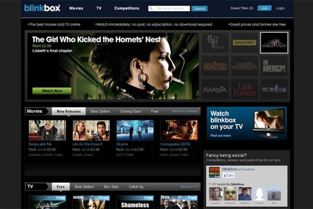 Tesco buys IPTV service Blinkbox