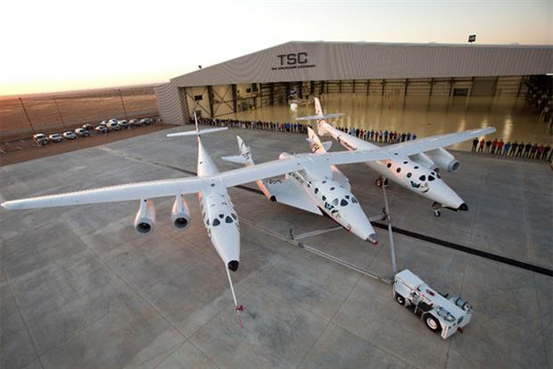 The Spaceship Company: jointly owned by the Virgin Group and Scaled Composites
