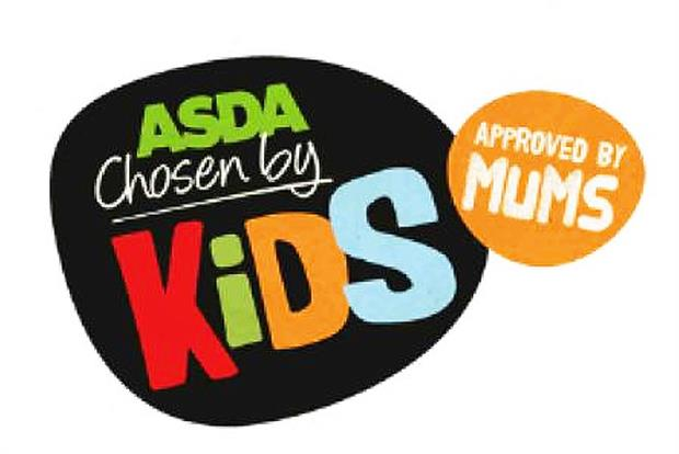 Asda: new 'Chosen by kids – approved by mums' range