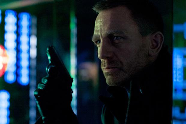 Daniel Craig: pictured in latest James Bond film Skyfall