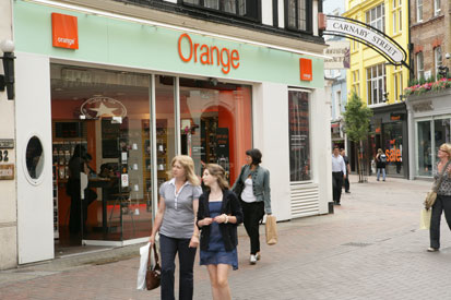 Orange has merged with T-Mobile