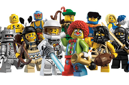 Lego Minifigures aim to encourage swapping