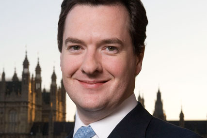 George Osborne: the Chancellor of the Exchequer